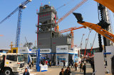 Stapel-Mischungs-Asphalt-mischendes Gerät 80 Tonne pro Stunde mit niedriger Emission