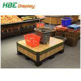 Supermercado Rack de vegetais em aço inoxidável