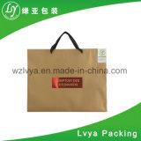 De impresión personalizadas bolsas de papel Kraft marrón