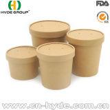 Bacia de sopa descartável do papel de embalagem Para o alimento quente