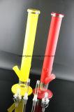 둔한 닦는 Handfeel를 가진 다채로운 유리제 관