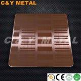 Roestvrij staal van uitstekende kwaliteit 304 de Leverancier van het Blad van Nr 4 in China
