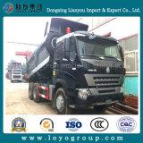 Sinotruk HOWO-A7の10荷車引き20m3のダンプトラック