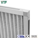 Aluminium gefalteter vor Filter G4 mit weißen synthetischen Media