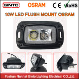 Mini LED 10W Offroad de la Lámpara de luz LED de trabajo 5700K
