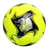 Яркий покрашенный футбол сверла Имитационн-Кожи