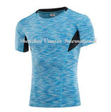 남자를 위한 빨리 건조한 프로 스포츠 t-셔츠