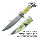 El Elk Cuchillos de caza Camping Cuchillo táctico de cuchillo de supervivencia de 35cm.