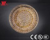 Techo cristalino de oro moderno Lighting