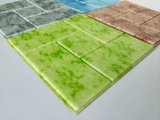 mattoni della decorazione della casa della carta da parati della gomma piuma del PE 3D