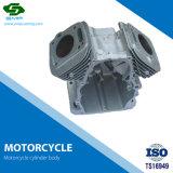 オートバイのエンジン部分のオートバイの身体部分