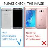 은하 J5 2017 상자를 위해, Samsung 은하 J5 2017년을%s 저항하는 호리호리한 얇은 명확한 유연한 연약한 TPU 방어적인 케이스 덮개를 긁으십시오