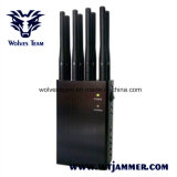 Jammer UHF VHF WiFi 8 Jammers антенны Handheld и сигнала телефона 3G 4glte 4gwimax