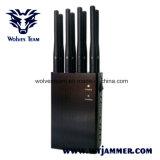 8 de Handbediende Stoorzenders WiFi VHF UHF en 3G de Stoorzender van de antenne van het Signaal van de 4glteTelefoon 4gwimax