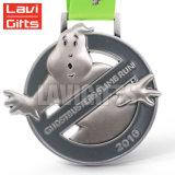 Arriba a bajo precio de venta Custom Delfín hueco de la medalla de natación de metal