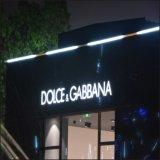 Forte formato enorme esterno che fa pubblicità all'acrilico caldo di vendita che forma i segni di plastica del LED