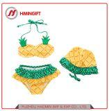 Les filles de fruits de la plage d'Ananas maillot de bain costume Pack vacances Split de maillots de bain Hot Springs Bikini