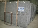 Mattonelle grige della scala del granito slittamento diretto del Rosa Beta/G623 della fabbrica di anti/della lastra della pietra prezzi di punti per la parte esterna