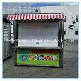 Bunte Straßen-mobile Nahrungsmittelkarren-Schnellimbiss-Karre