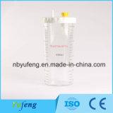 Yf-VAC01-1L passen Europa-Typen Absaugung-Regler PC materielle Flasche des Absaugung-Regler-1L an