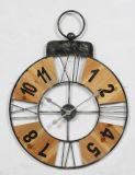 Mode et horloge de mur chaude en métal d'antiquité de modèle