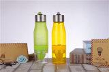 Творческая конструкция портативного пластичного стекла чашки фруктового сока/лимона