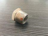 Plugue principal sextavado do encaixe de tubulação de Screwd da linha masculina de aço inoxidável