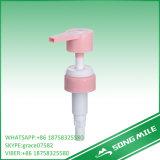 33/410 grande pompe de lotion de dosage de vis blanche