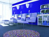 Tesoro Blue 3X6 pulgadas/7,5x15cm brillante bisel de cerámica esmaltada pared mosaico Metro baño cocina Decoración