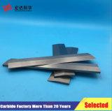 Tiras de carburo de tungsteno para las máquinas herramientas de corte