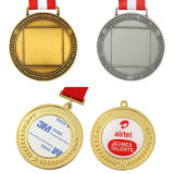 Promotion Gift Custom Decoration 3D Metal Kraft Sport Award Gold Medal Memory
