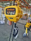 таль с цепью 500kg используемая краном электрическая