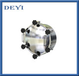 Люк -лаз давления AISI304 AISI316L круглый с изолированной крышкой