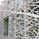 Schermo decorativo di alluminio del metallo del pannello reticolare