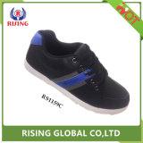 Nouveau design confortable de gros hommes pu travailler le cuir des chaussures occasionnel