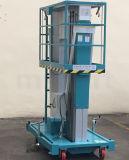 油圧持ち上がるプラットホームのマストのタイプアルミ合金の上昇Gtwy6/8/9/10/12 M-200sアルミニウム持ち上がる表