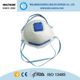 Wegwerfluft-Respirator-Rauch-Schutz-Gesichtsmaske