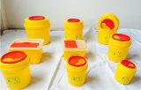 Contenitore di rifiuti medico rotondo della casella di Sharps degli scomparti residui 1L/3L/4L/5L/6L/8L/10L/15L