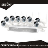960p 1.3MP 8CH Wireless Wi-Fi Monitoring NVR Kit Security CCTV Camera
