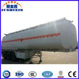 Eje 3 45m3 de acero al carbono semi remolque cisterna de combustible