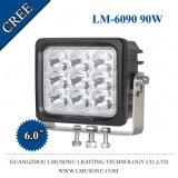 6,0 pulgadas LED 10W CREE Offroad lámpara de trabajo de 90W EMC