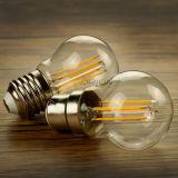 Luz de bulbo ahorro de energía de la lámpara 4W 6W E14 E27 G45 LED