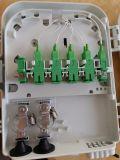 Caixa de Terminais da Fibra Óptica 8 Caixa de Distribuição de fibras patch panel com 1X8 Divisor PLC