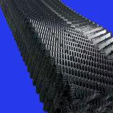Folha de longo 19mm de profundidade da onda de enchimento da torre de resfriamento