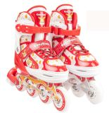 子供のための非常にかわいいデザイン柔らかいシェルのインラインスケート