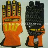 Gant de sûreté de mécanicien de gants de choc de TPR avec du ce
