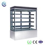 Réfrigérateur d'étalage d'étalage de gâteau/compteur étalage de dessert (S750V-S)