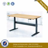Conception simple mobilier scolaire Table en bois Table pliante en aluminium (HX-5D192)