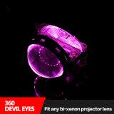 Fabrik-direkte Autoteile 12V befestigten alle mögliche Teufel-Augen des Bi-Xenon Projektor-Objektiv-360