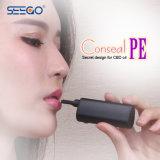 Penna sottile di Vape del metallo dell'olio di Cbd del vaporizzatore del PE di Seego Conseal dei nuovi prodotti